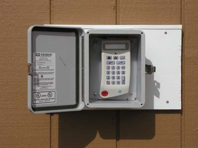 Keypad In Environmental Box D Tek Tion Security Systems
